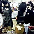 La boutique éphémère de mam'zelle brocante au salon de la brocante du wacken à strasbourg