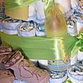 GATEAU DE COUCHES - DEAPER CAKE - BABY SHOWER ( CADEAU NAISSANCE OU BAPTEME) (4)
