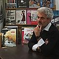 Rencontre avec laurent gaudé à la librairie l'établi, à alfortville (94)