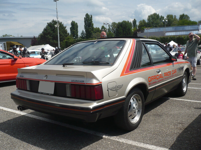 FORD Mustang Official Pace Car Indy 2door hatchback coupé 1979 Illzach (2)