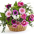 Le paniers des fleurs - il cestino di fiori- the basket of flowers
