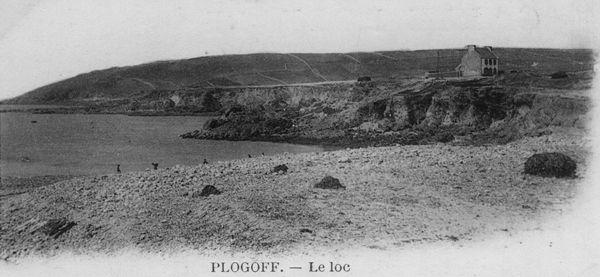 CH01 - Photo du Loch Plogoff de 1900