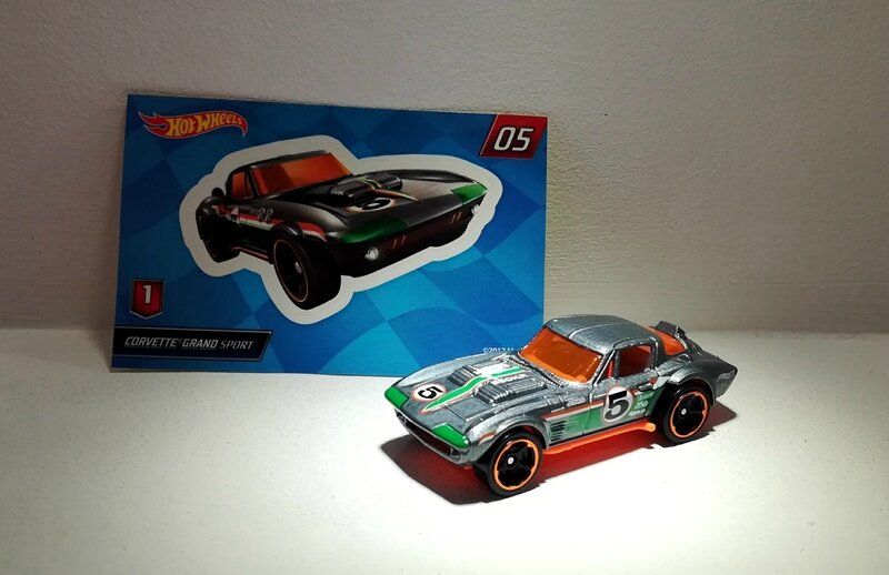 Chevrolet Corvette Grand Sport (Hotwheels)