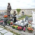 Dannemois, cimetière, tombe Claude François (91)