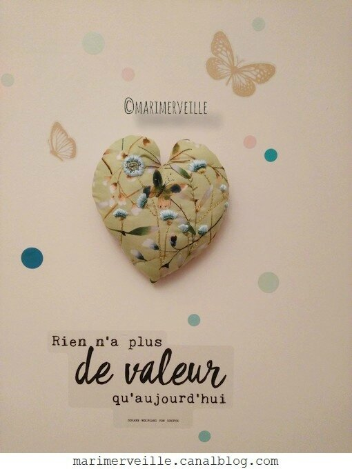 Coeur brodé jardin printanier Marimerveille4