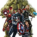 Stickers avengers age of ultron
