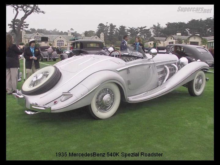 1935 - Mercedes benz 54O K Spezial Roadster..