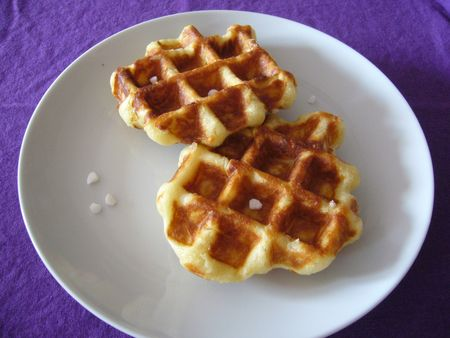 Wafles gaufres liegeoises