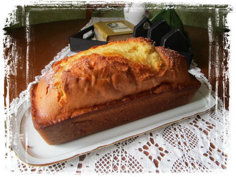 Gâteau fleur d'oranger