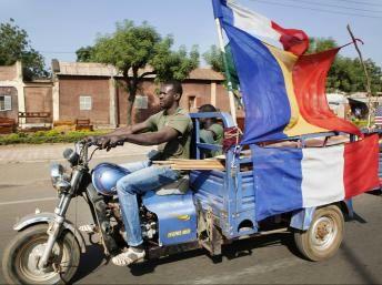 Malien drapeau français