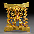 Pre-columbian gold pushes american indian and tribal art auction above $1 million