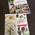Ma sélection de livres de cuisine : ma lecture de vacances :-)