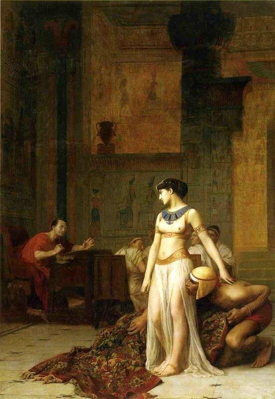 Cléopâtre et Cesar - Jean Léon Gerome - 1866