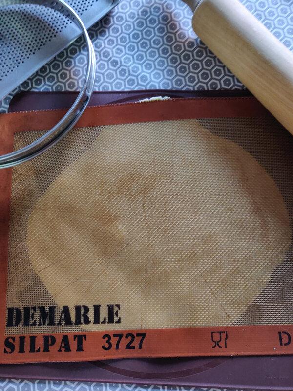 pâte sucrée et crème d'amnde (2)
