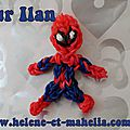 Mahélia's loom : spiderman