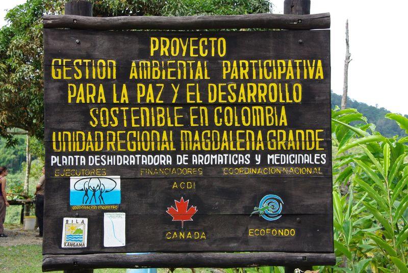 Entrée de la réserve