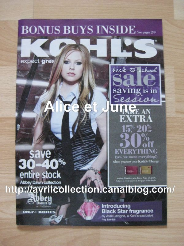 Kohl's Magazine-septembre 2009
