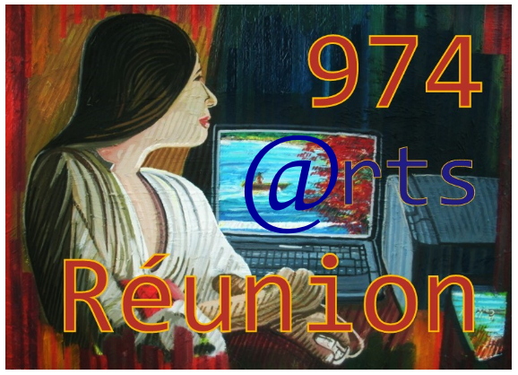 974 arts Réunion logo officiel