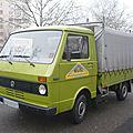 Volkswagen lt 28 plateau-ridelles bâché