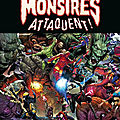 marvel deluxe les monstres attaquent