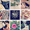 Instagram de la fin des vacances