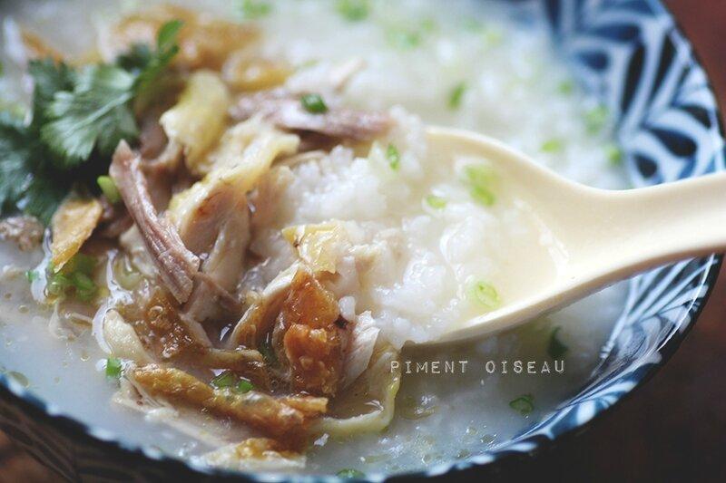 congee porridge de riz