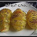 Hasselbackpotatis, ou pomme de terre à la suédoise...
