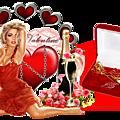 Cadre cluster st valentin