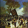 L'enterrement de la sardine - francisco goya