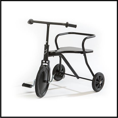smallable tricycle metal 4 noir