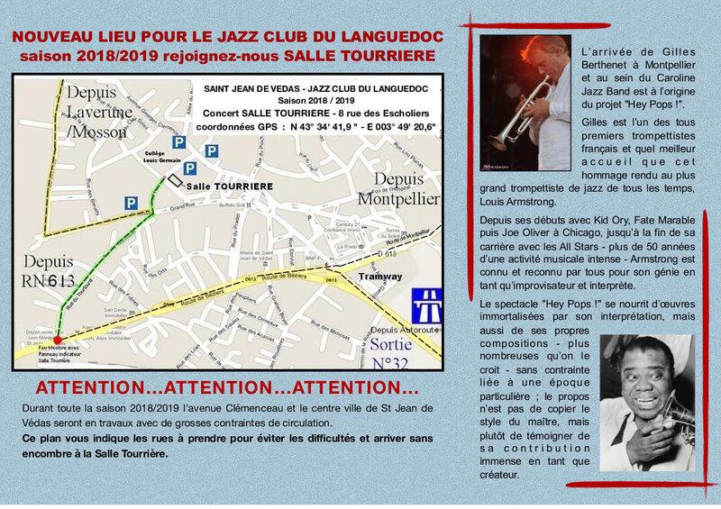 Bulletin n° 106_2 octobre 2018 - Caroline Jazz Band