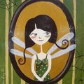 Mademoiselle Longues Z'ailes 33x41