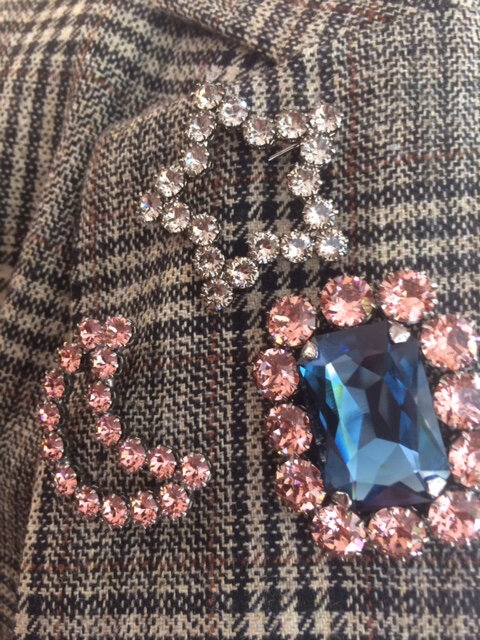 manteau Teoh&Lea Prince de Galles broche Reine Rosalie rentrée 2018 boutique Avant Après Montpellier