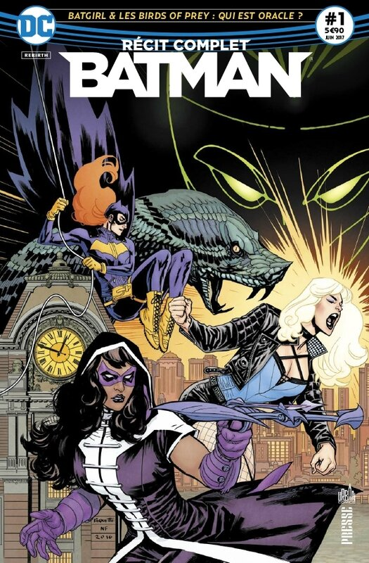 récit complet batman 01 batgirl & the birds of prey