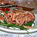 Tartare de saumon au citron vert