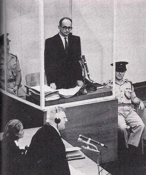 photo mémoire juive - procès Eichmann 2