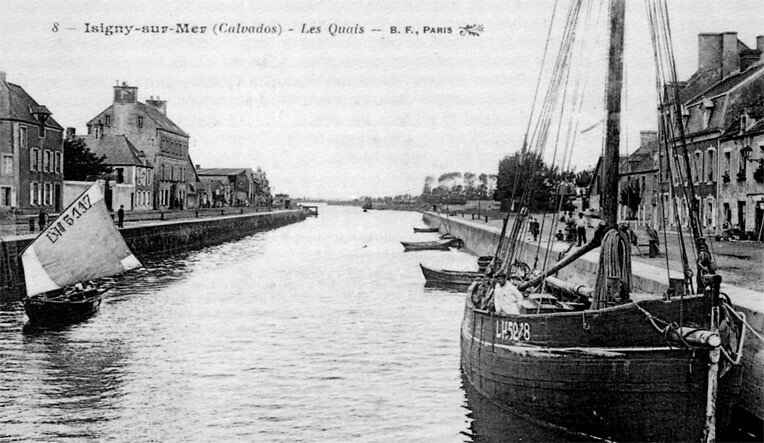 isigny,le port