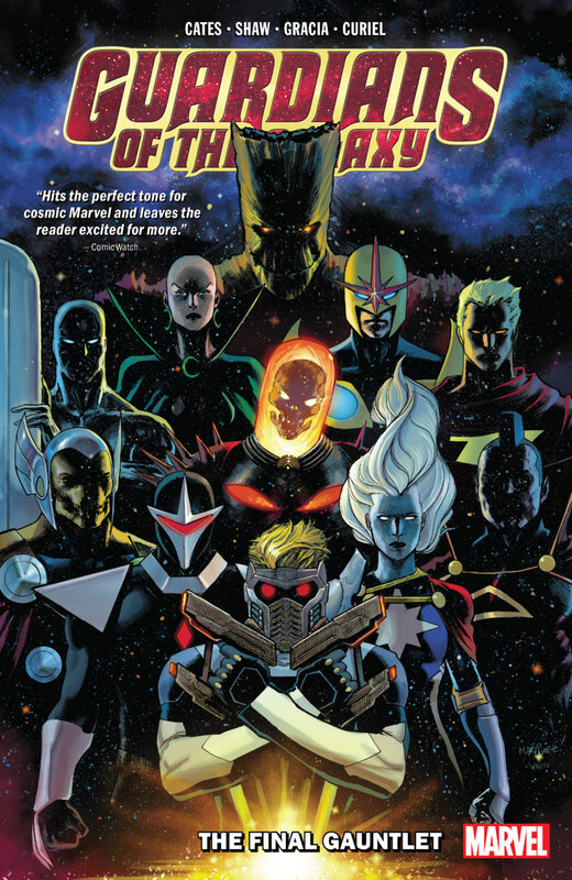 guardians of the galaxy 2019 vol 01 the final gauntlet TPB