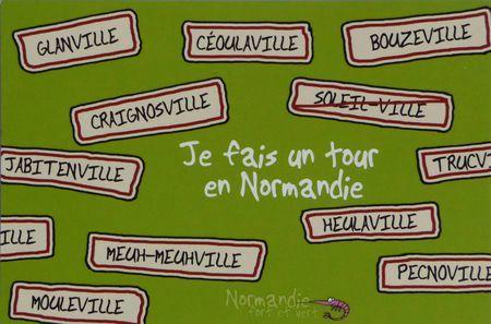 Villes normandie