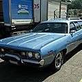 Plymouth satellite custom wagon, 1971