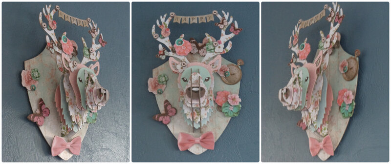 Trophée cerf Cam&Drey bricolent