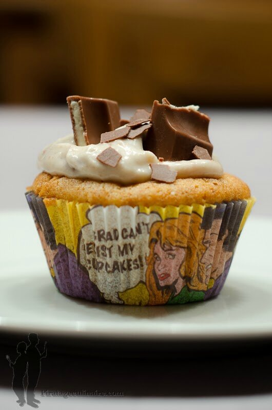 Cupcakes au Kinder® de Piratage Culinaire