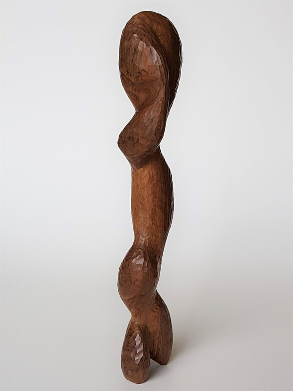 1 Fang, Noyer, 43cm, 2018
