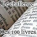 Le challenge des 100 livres