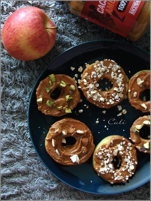 Tartines de Pomme au Beurre de Cacahuète 001