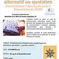 formation au podd, système de communication les 19/20 nov 2016