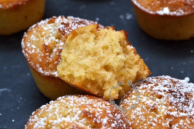 muffins, citron, agrume, miel, flexipan, demarle