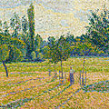 The national gallery acquires painting by camille pissarro