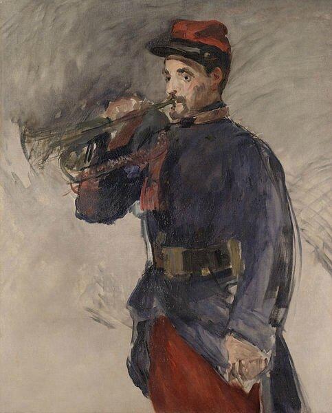 Manet, Le clairon, 1882