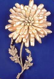 BROCHE CHRYSANTHEME